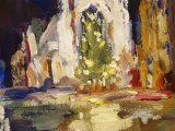 Bath Abbey at Christmas 2019SOLD •