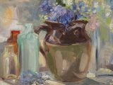 No. 22 – Still Life With Bluebells 2020SOLD•Artist Support Pledge