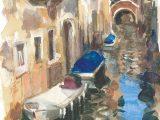No.16 Resting Boats, Venice