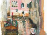 No.19 Gondola on the Canal, Venice