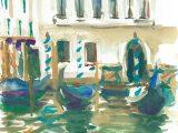 No.20 Gondolas, Venice