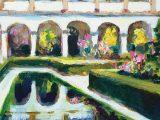No.32 Reflection of the Colonnade, Alhambra Granada