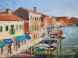No.7 Row of Boats, VeniceSOLD•