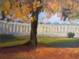 Royal Crescent in Autumn